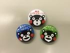 熊本を応援しよう! 寄付つき缶バッチ(くまモンバージョン)募金活動
